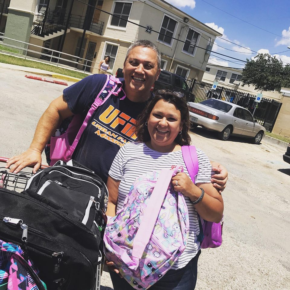 FILL-A-BACKPACK - Just before school begins each summer, Life Point Church comes alongside Urban Faith Mission and Agora Ministries to provide backpacks and school supplies for children whose families may be struggling to meet these needs.