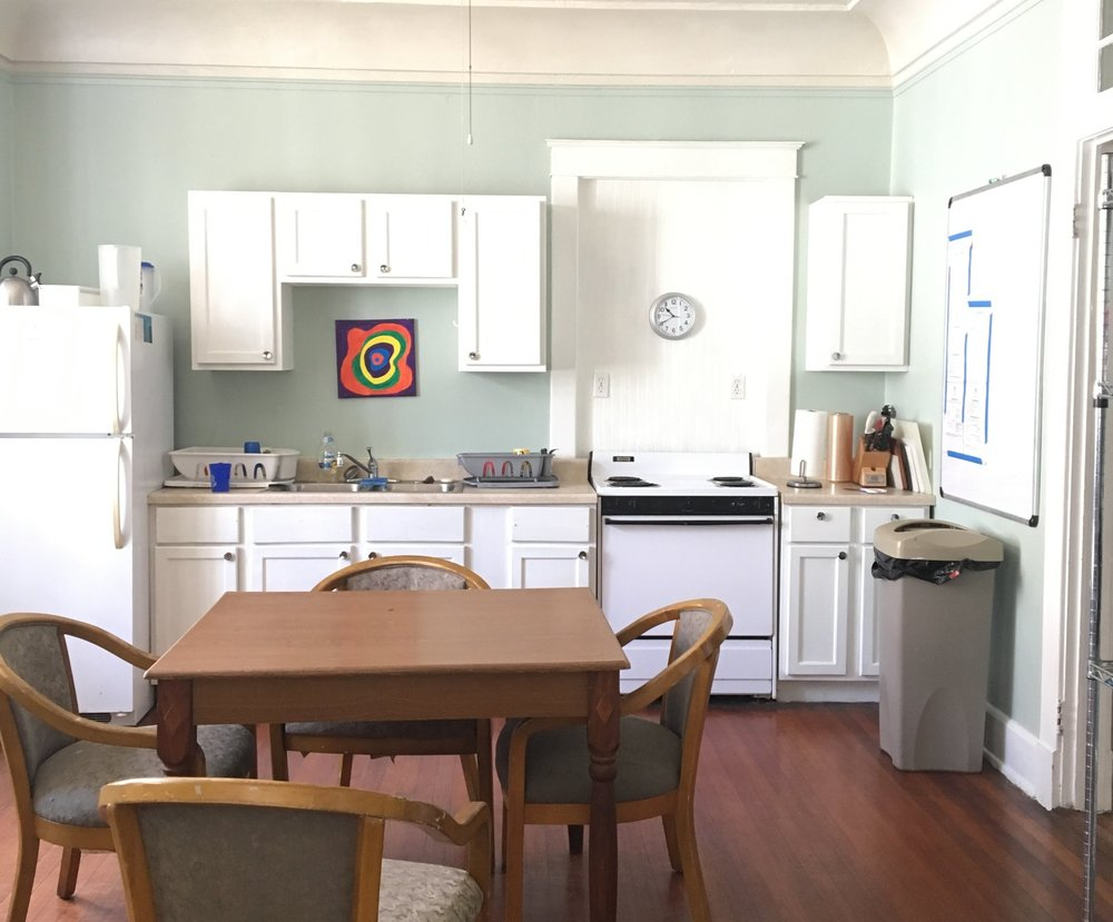 The Amenities - As our guests, we provide breakfast and lunch daily. This includes fresh fruit, cereal, milk, juice, granola bars, sandwiches, and snacks. There's also a washer and dryer on site and a huge front porch with comfy chairs for relaxation.