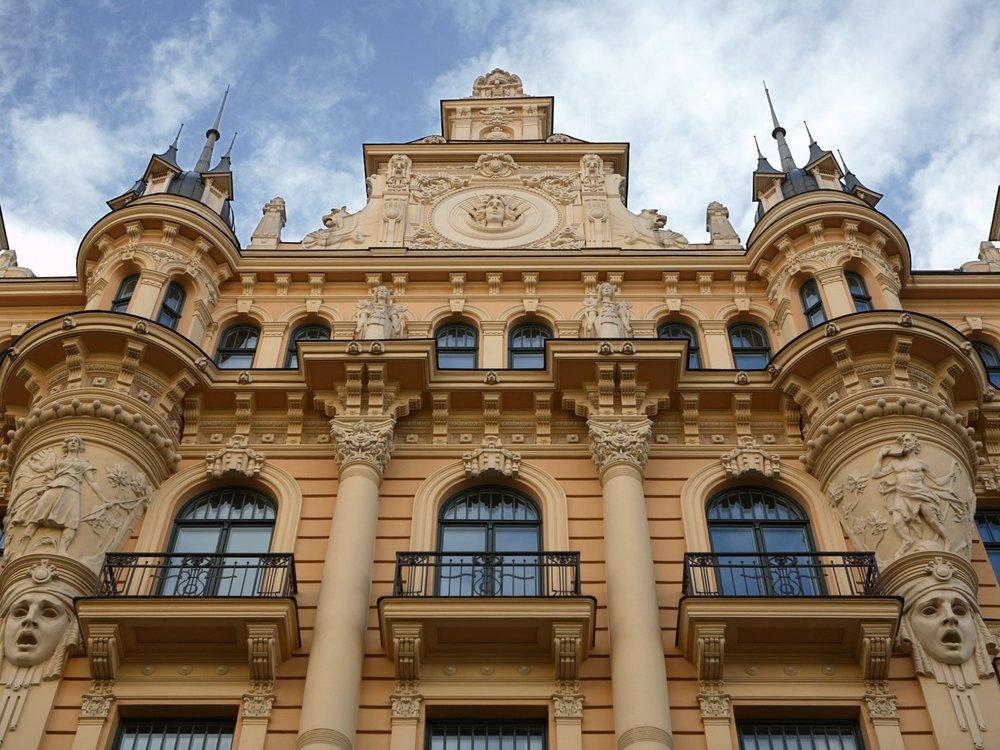 Jugendstil Architecture Riga