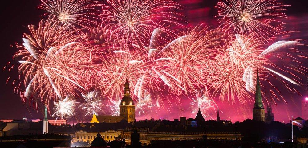 Riga Fireworks