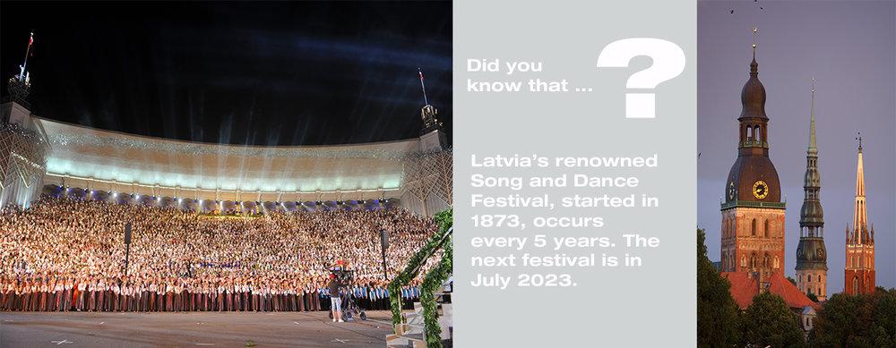 Dziesmu Svetki - Latvian Song & Dance Festival