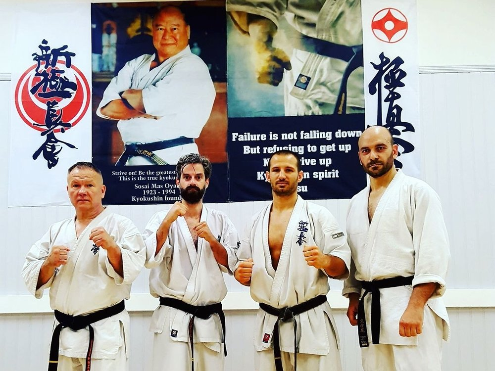 Kyokushin Karate - Mondays & Thursdays 7:30pm - 8:45pmElite Martial Arts Richmond prides itself in delivering the highest standard of Karate and Martial Arts instruction. We offer outstanding coaching suited for all levels from beginner to professional. Whether it is for fighting or just fitness, you can take it to the next level.