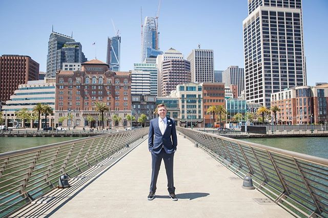 A man and his city #ilovesf #sanfrancisco #sanfranciscowedding
