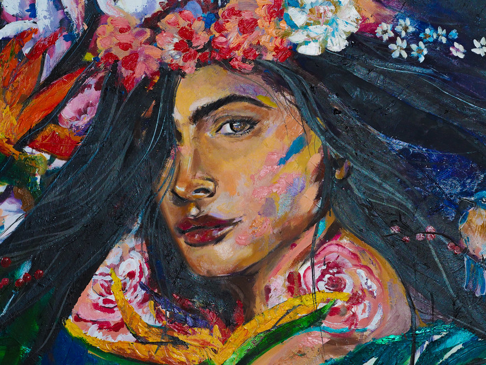 Painting by  Cynthia Vera
