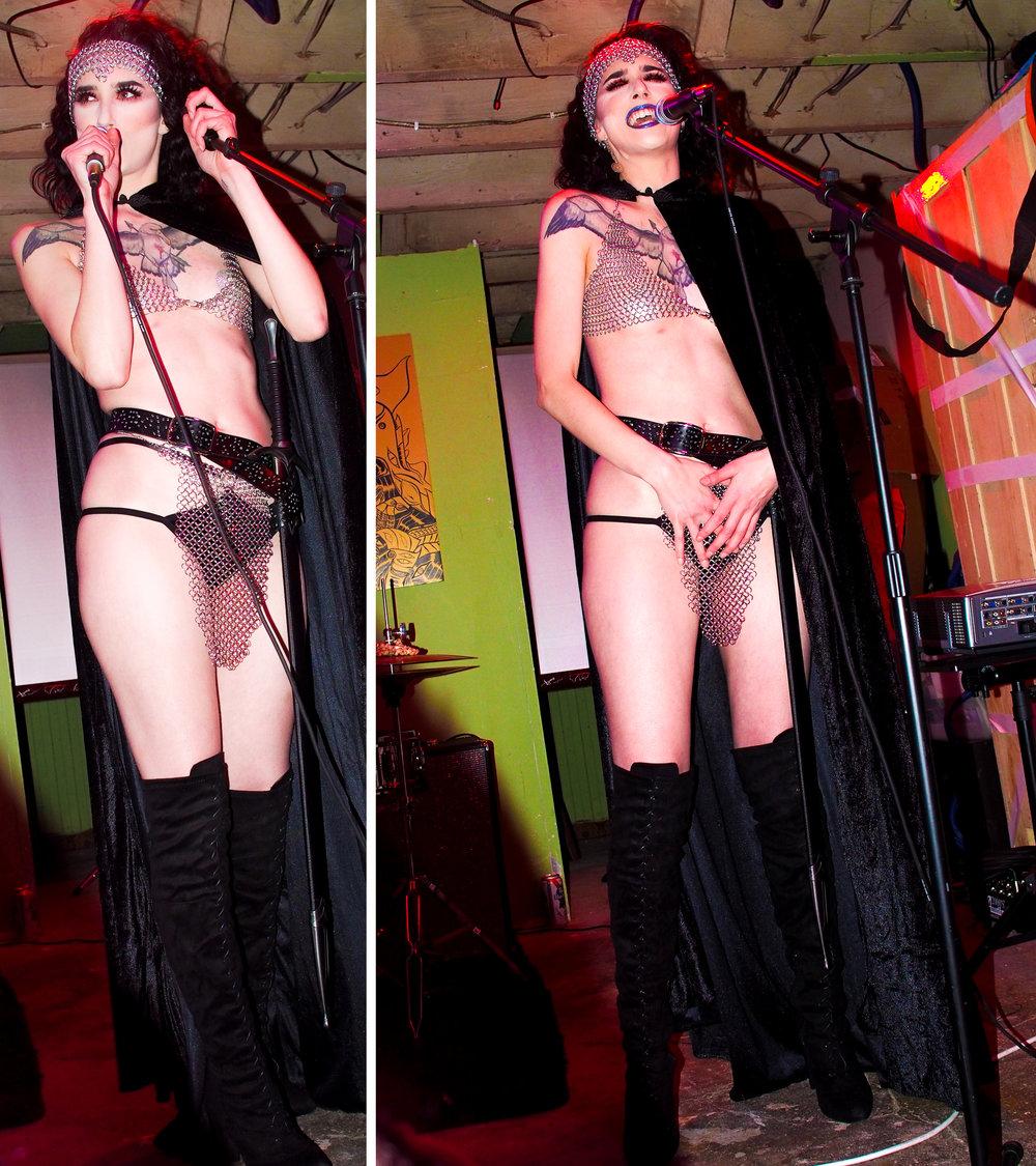 @velvetboothburlesque killed her Kate Bush burlesque performance!!