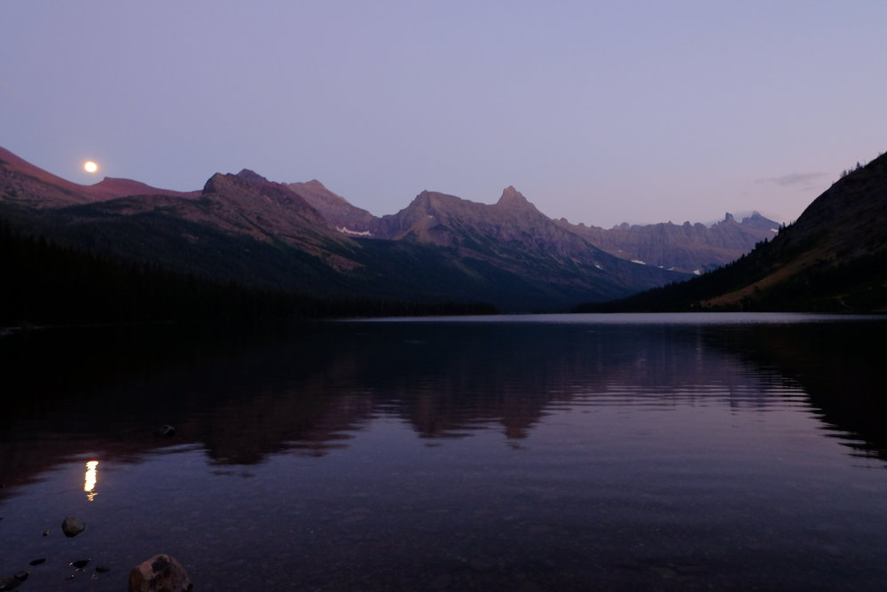 Moonlight on Elizabeth Lake