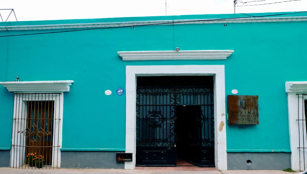 We are noticing a trend of discrete brewery entrances in Oaxaca.