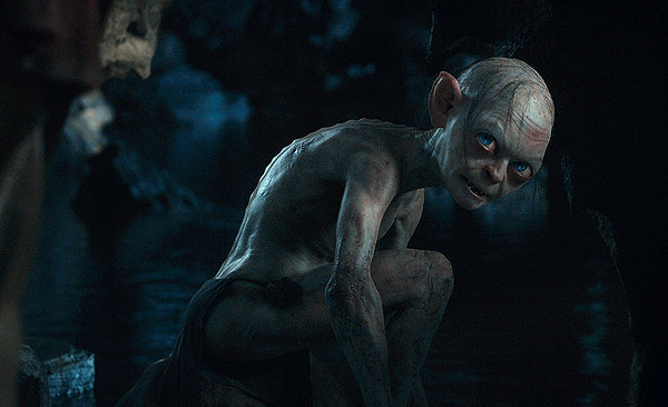Gollum (Andy Serkis) remains a highlight of Jackson's adaptations.