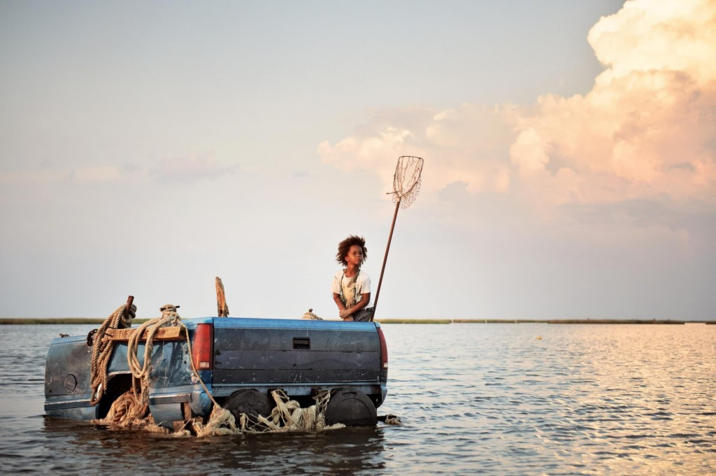 Can Hushpuppy (Quvenzhané Wallis) hold the Bathtub together after the storm?