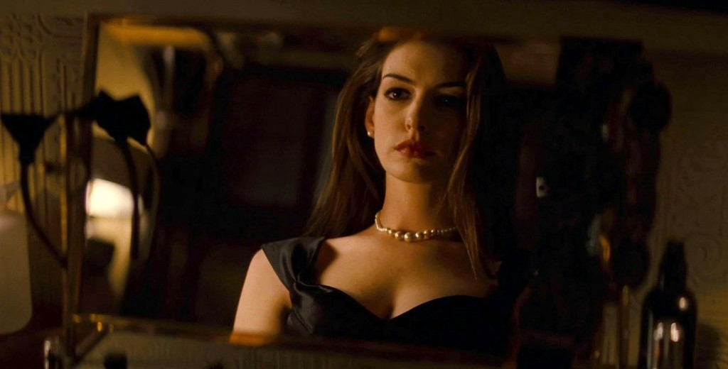 Anne Hathaway's Selina Kyle in Christopher Nolan's THE DARK KNIGHT RISES.