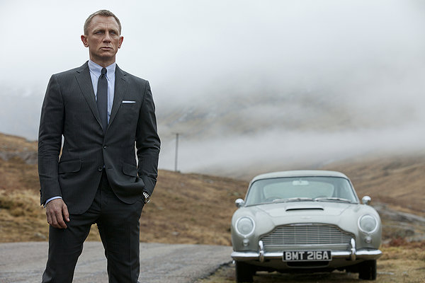 James Bond (Daniel Craig) returns to his roots.