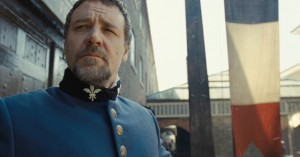 Russell Crowe as Inspector Javert.