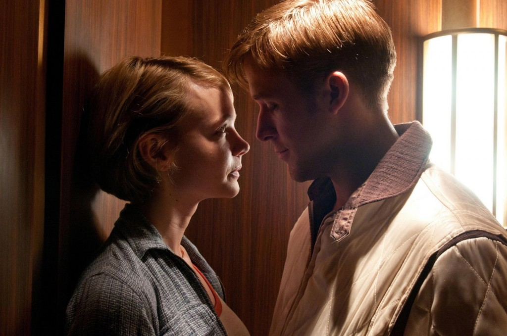 Driver (Ryan Gosling) shows his love for Irene (Carey Mulligan).