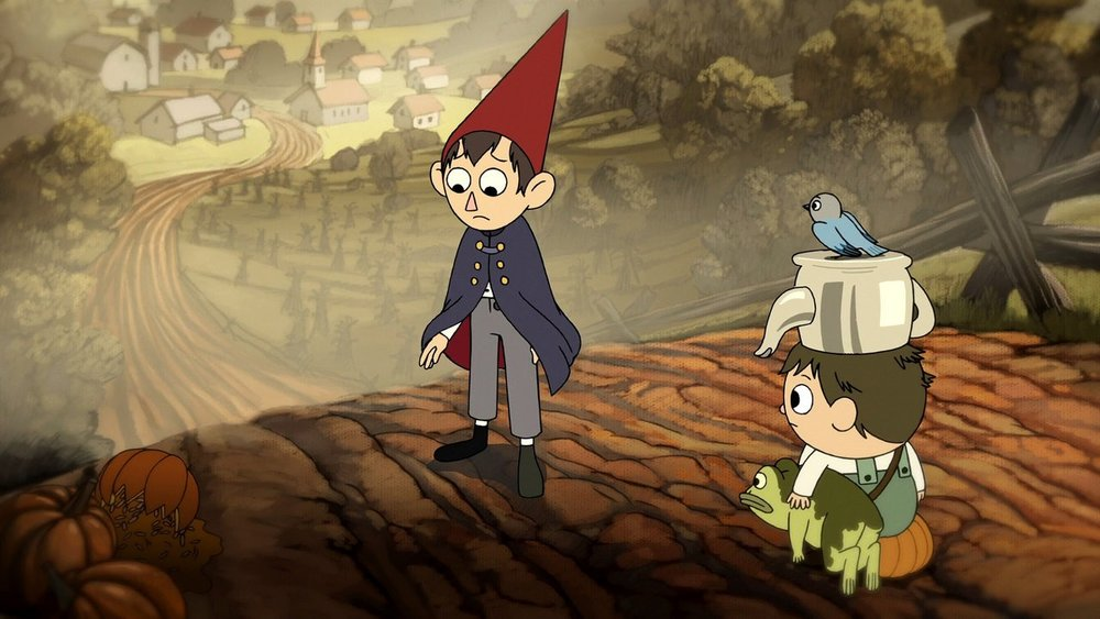 over the garden wall is a fairy tale for the adventure time generation - Garden Wall