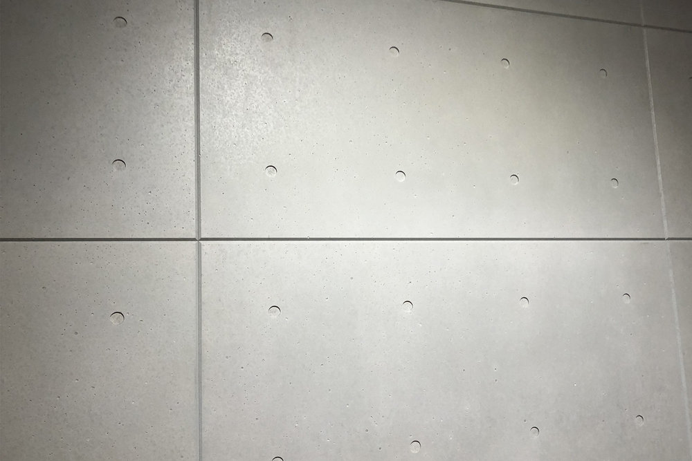CONCLAD prêt-à-porter - Slabs cut in standard sizes, with bevelled edges and holes