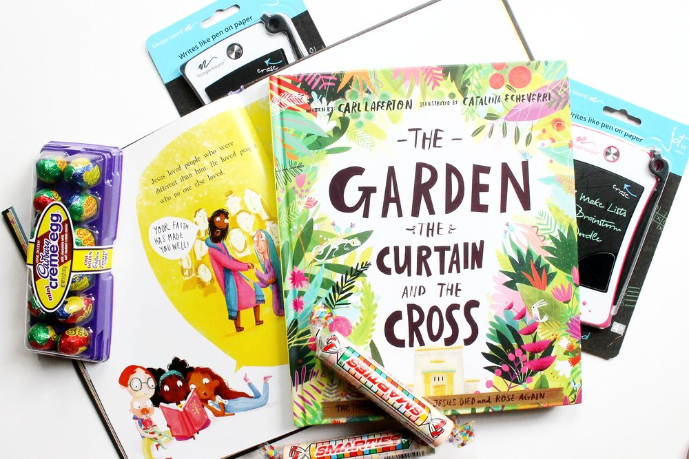 The Garden Curtain And Cross Carl Laferton Catalina Echeverri