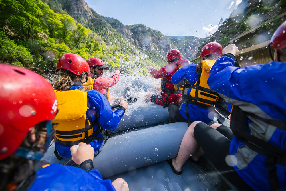 GLENWOOD CANYON HALF- DAY - OUR MOST POPULAR TRIP THAT HAS A LITTLE SOMETHING FOR EVERYONE.