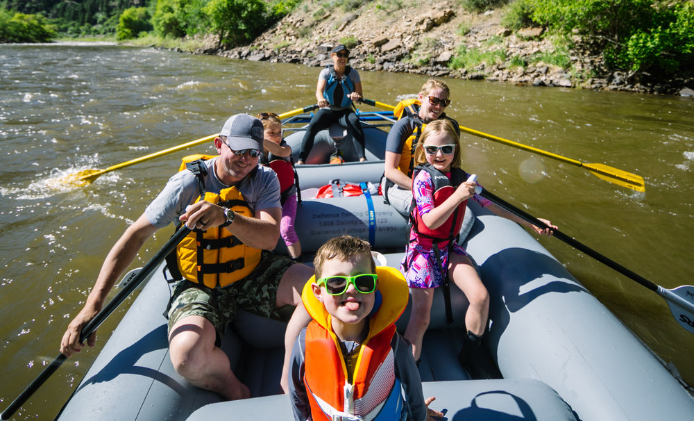 Defiance Rafting believes everyone should have an opportunity to experience river rafting in Colorado. That's why we give our Happy Paddlers the VIP treatment! We offer family friendly floats and can add a bit of splash too!