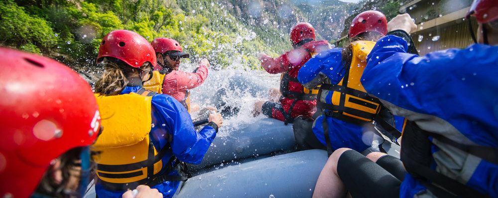 THE ALL-AROUNDER. - CLASS III WHITEWATER: CHECK. SCENIC FLOAT: CHECK. BACKFLIPS: CHECK.