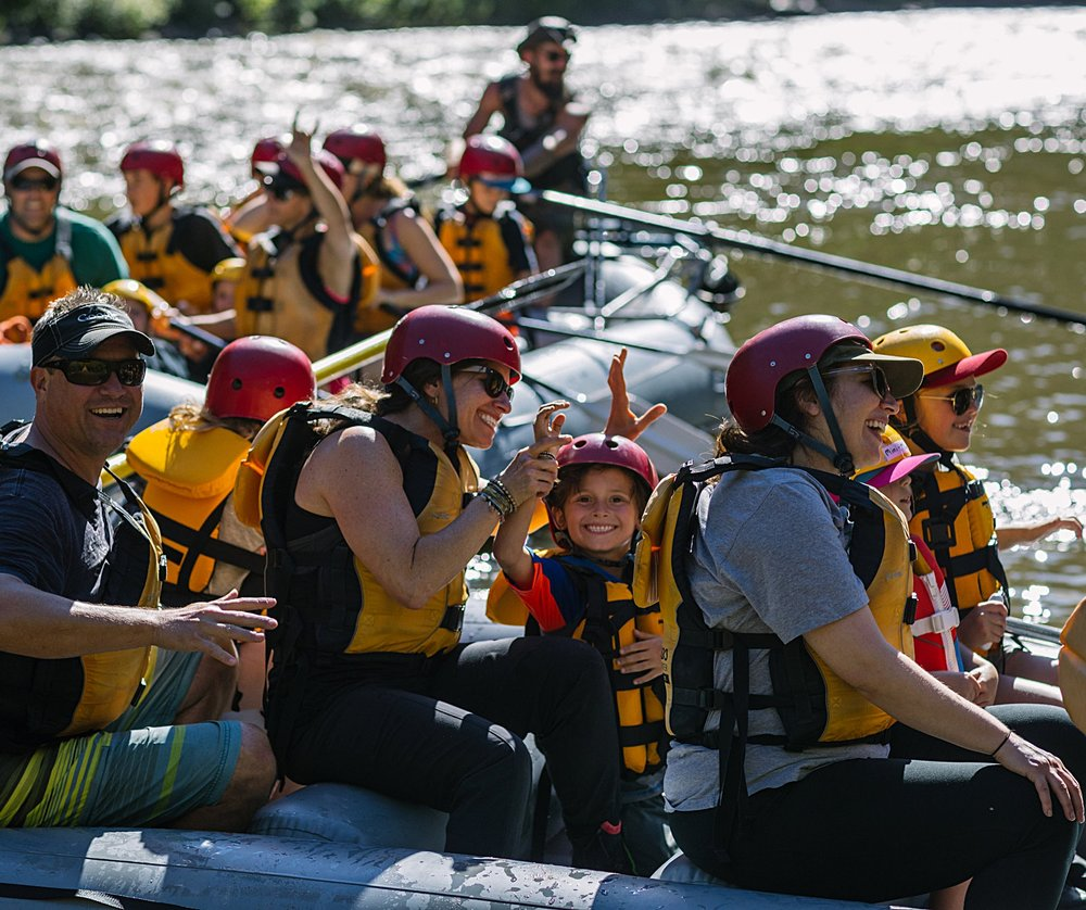 Creating memorable adventures, on the daily. - Only in Glenwood Springs with Defiance Rafting.