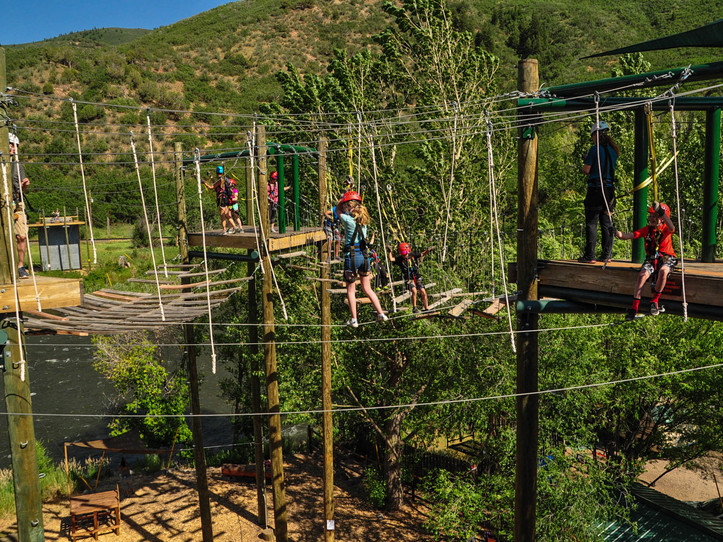 Aerial Adventure + Lunch + Raft = Savings! - great times for the entire family.