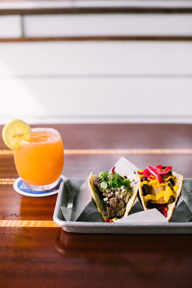 Frosé + Tacos at Long Board