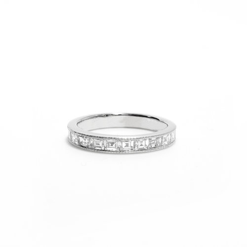 bands product diamond channel p band cut platinum eternity ct baguette round