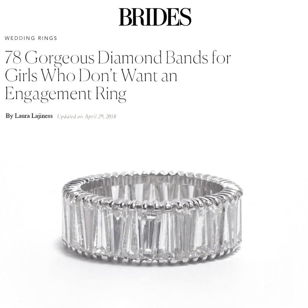Brides April 2018   https://www.brides.com/gallery/engagement-wedding-bands