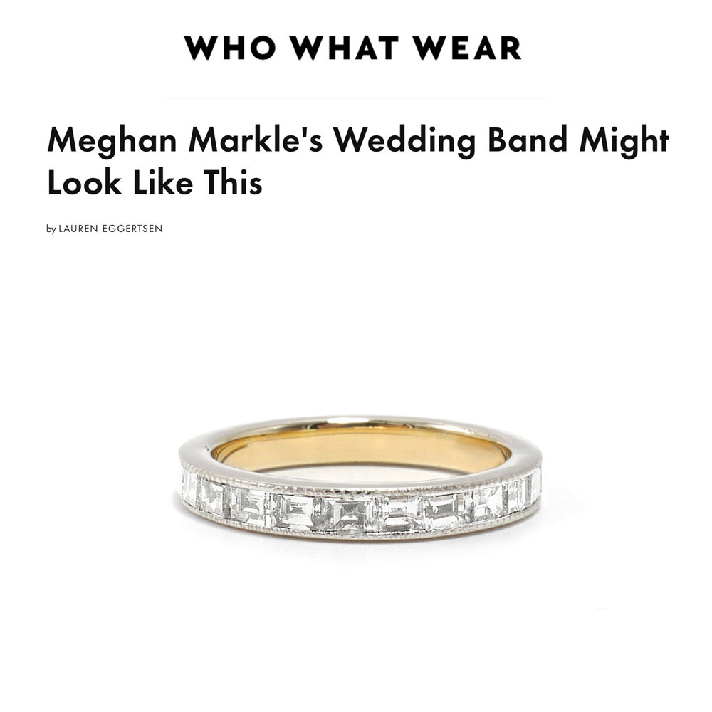 Who What Wear May 2018   https://www.whowhatwear.com/meghan-markle-wedding-band--5aeb36dcbe4bd/slide12