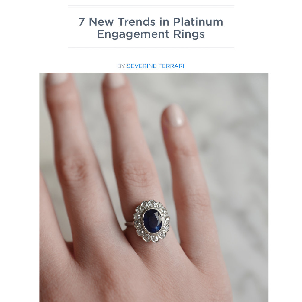 PlatinumJewelry.com June 2018   https://platinumjewelry.com/platinum-pulse/7-new-trends-platinum-engagement-rings/