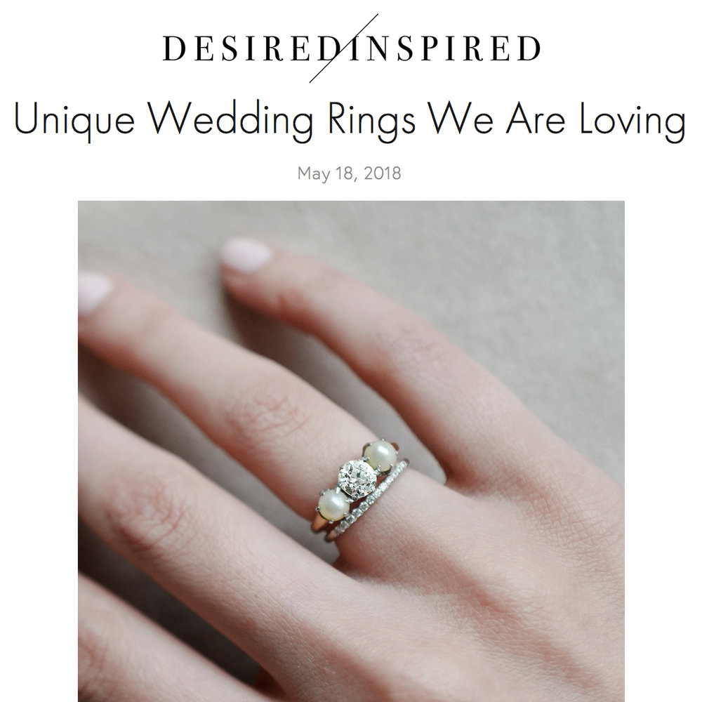 Desired and Inspired   https://www.desiredandinspired.com/blog/2018/5/11/unique-ring-band-companies-we-love