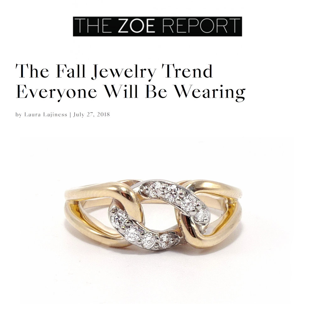 The Zoe Report July 2018   http://thezoereport.com/fashion/accessories/chain-link-jewelry-trend/