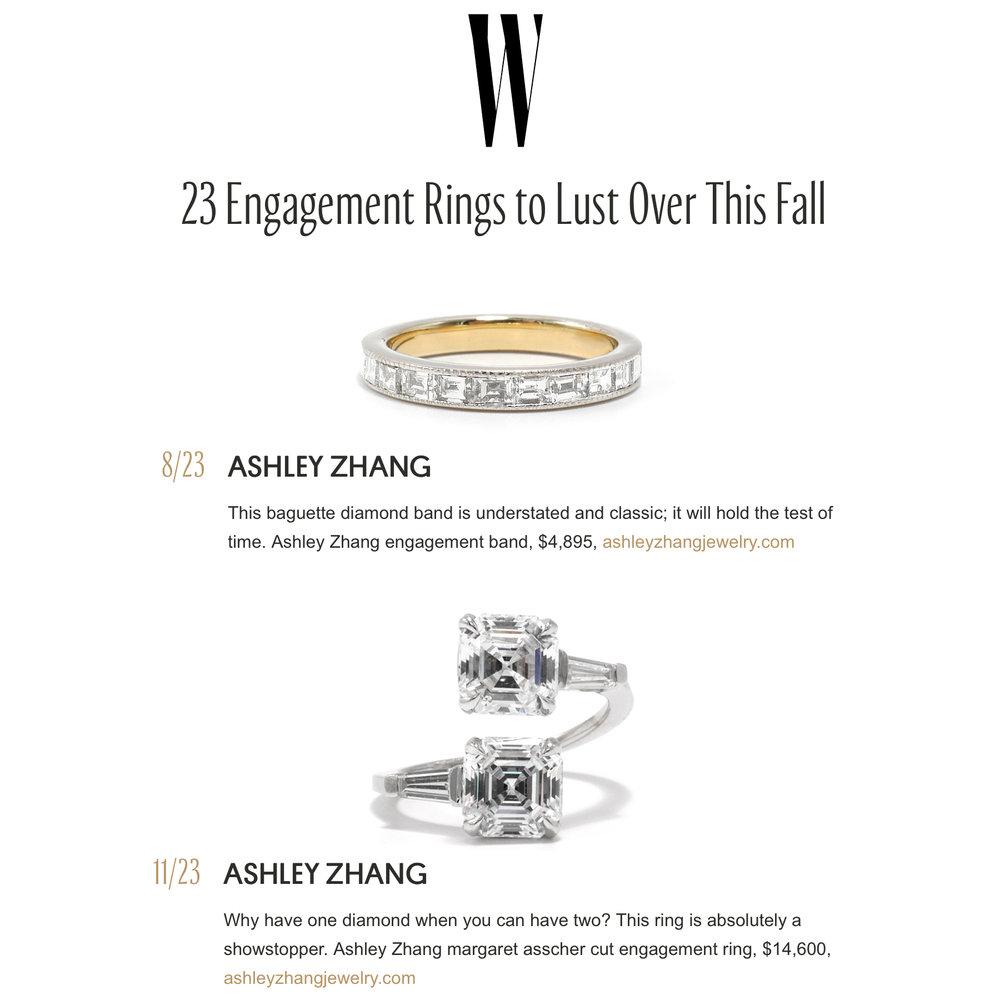 W September 2018   https://www.wmagazine.com/gallery/best-engagement-rings