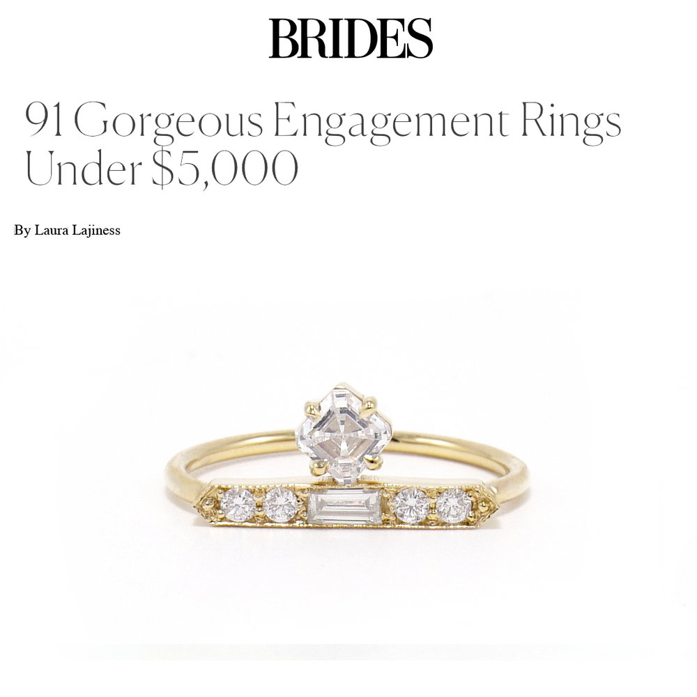 Brides September 2018   https://www.brides.com/gallery/engagement-rings-that-cost-less-than-5000