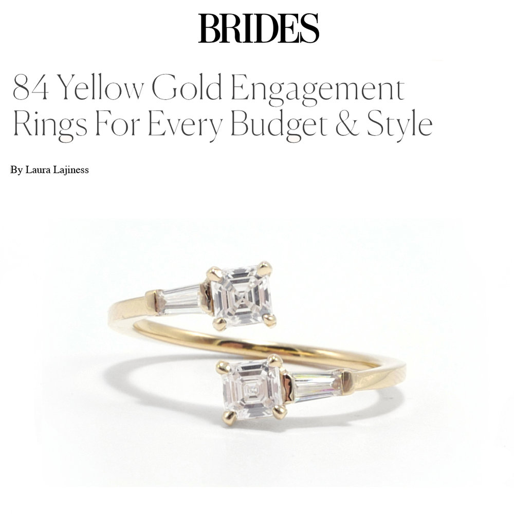 Brides September 2018   https://www.brides.com/gallery/yellow-gold-engagement-rings