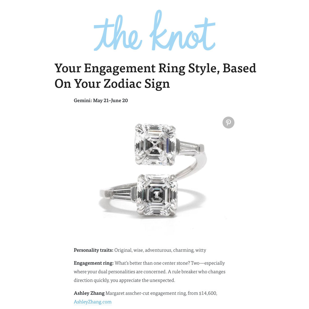 The Knot October 2018   https://www.theknot.com/content/engagement-ring-style-zodiac-sign