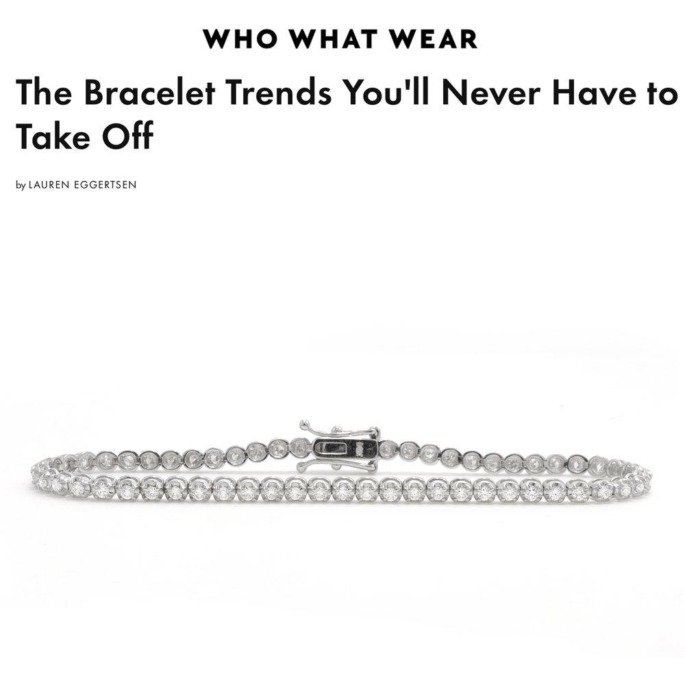 Who What Wear November 2018   https://www.whowhatwear.com/bracelet-trends-2018/slide3