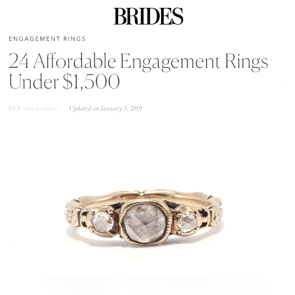 Brides January 2019   https://www.brides.com/gallery/affordable-engagement-rings-under-1500