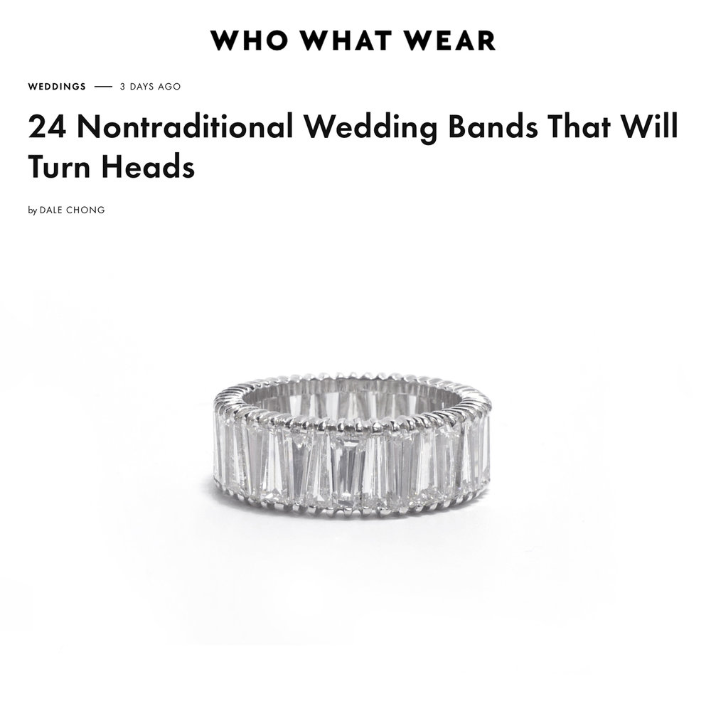 Who What Wear January 2019   https://www.whowhatwear.com/unique-wedding-bands/slide7