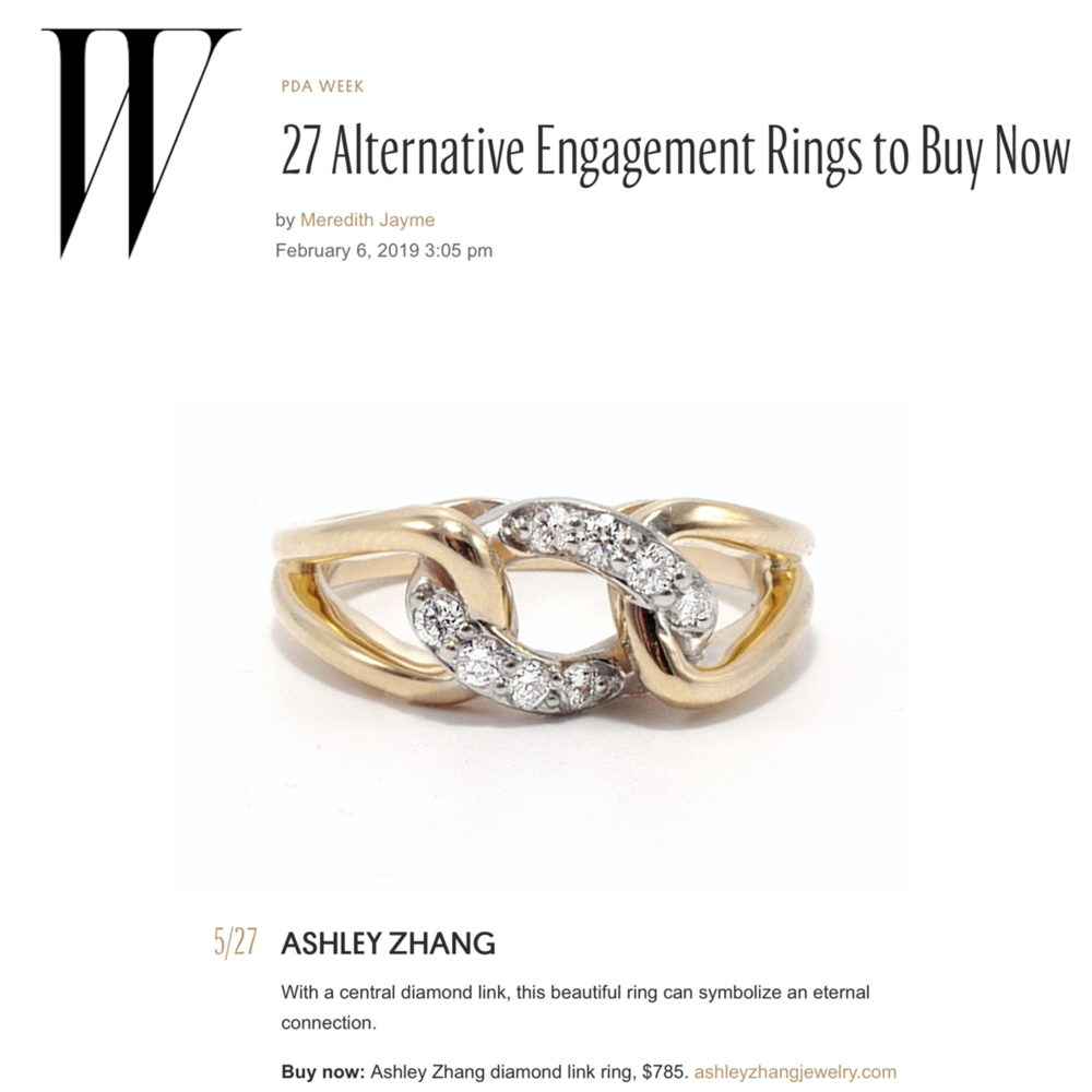 W Mag February 2019   https://www.wmagazine.com/gallery/alternative-engagement-ring-designers