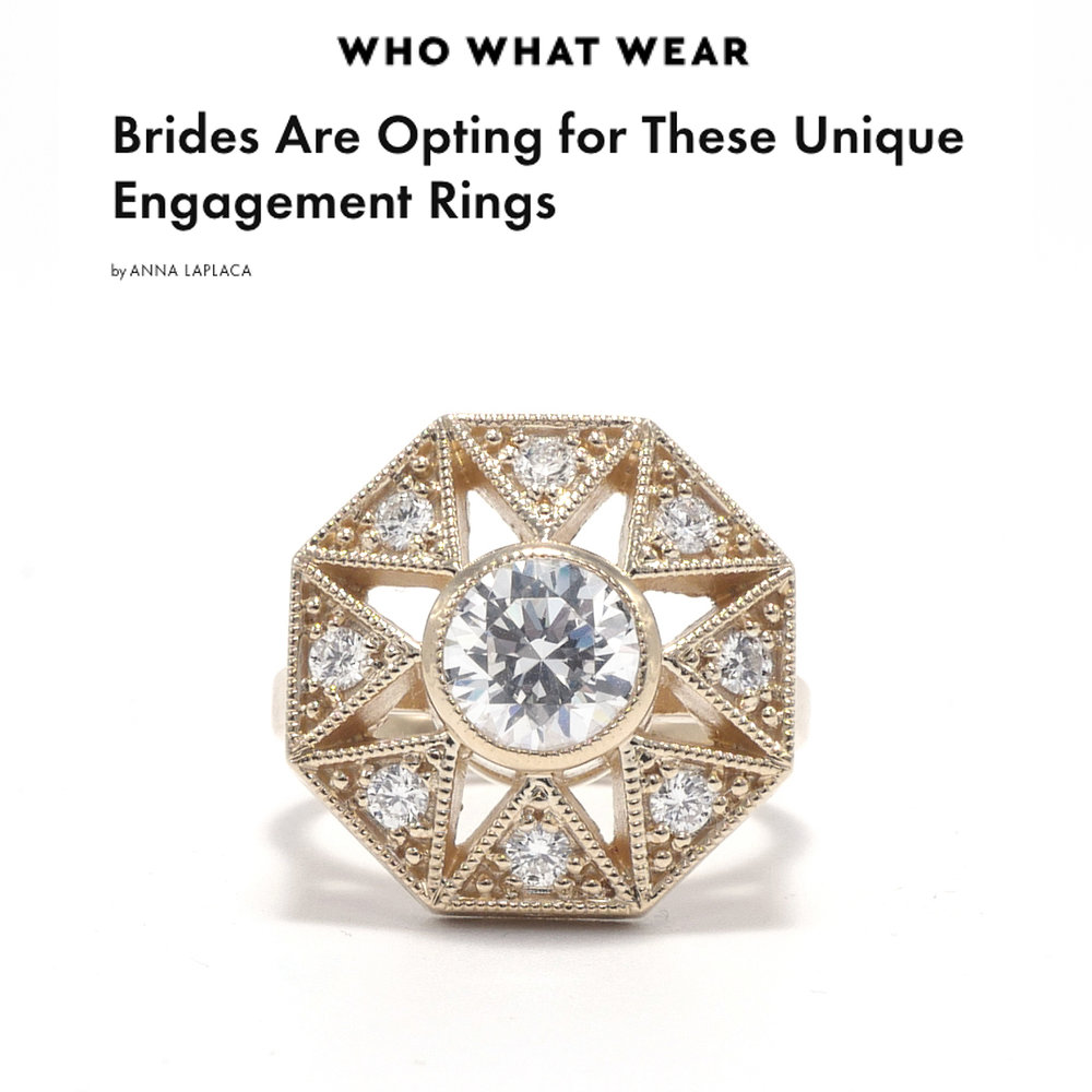 Who What Wear March 2019   https://www.whowhatwear.com/unique-engagement-ring-trends/slide3