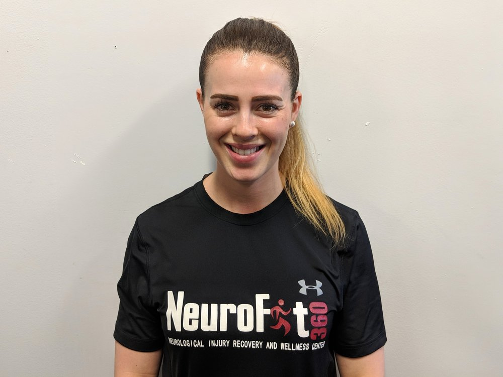 Cristina Segredo Thurston, PT, DPT, NCS   Doctor of Physical Therapy from University of South Florida with a certification in clinical neurology.