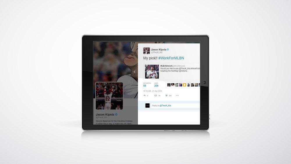 Jason Kipnis Social Media Post