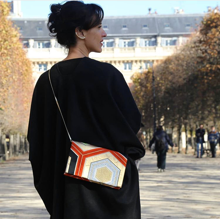 Kyomai - Clutch bags handmade in Reims, France from vintage Obi from Kyoto