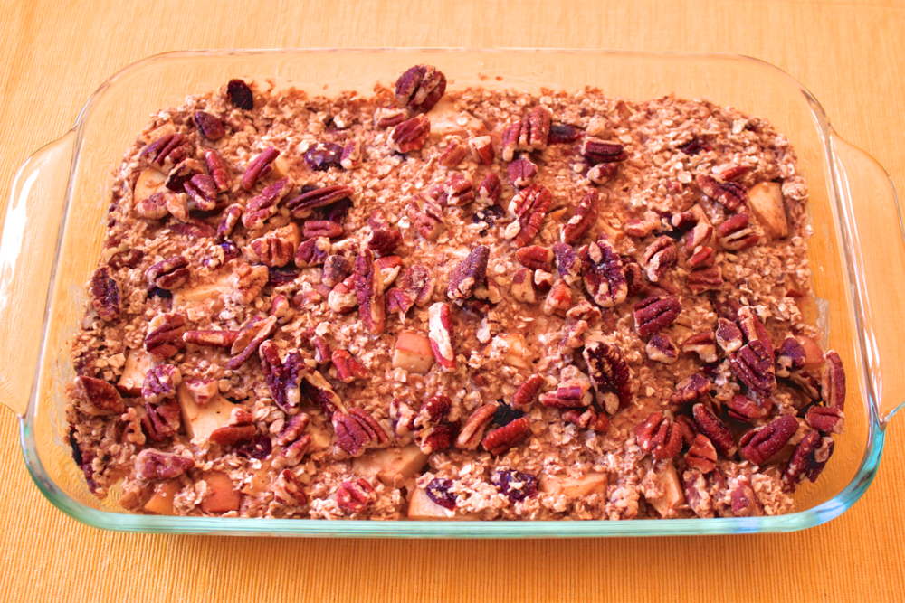 Aunt Judy's Baked Oatmeal