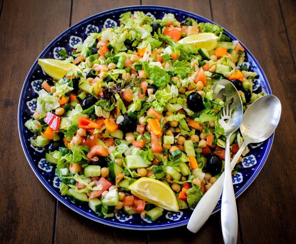 Italian Style Chopped Salad