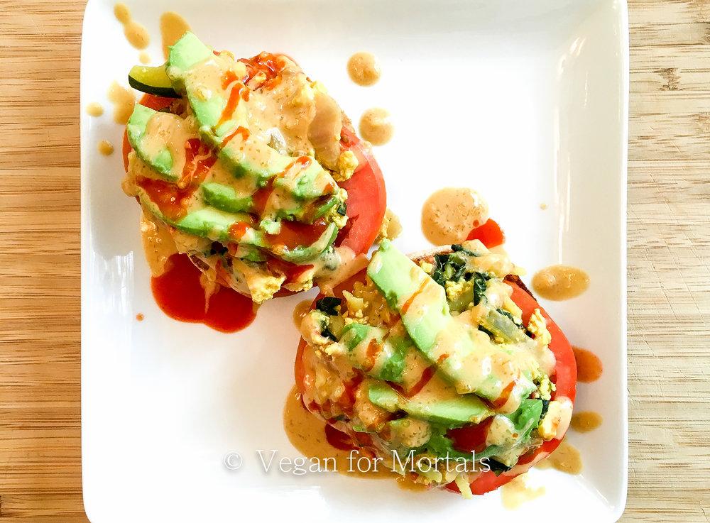 Vegan Tofu Benedict
