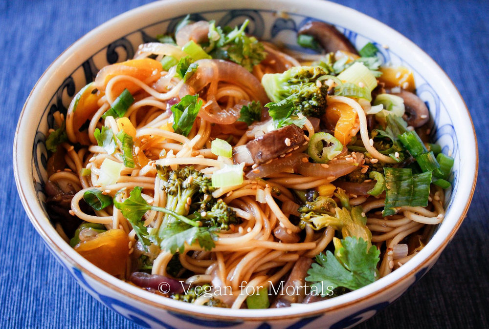Japanese Pan Noodles