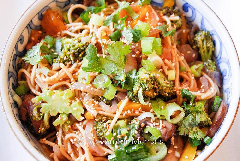 Japanese Pan Noodles