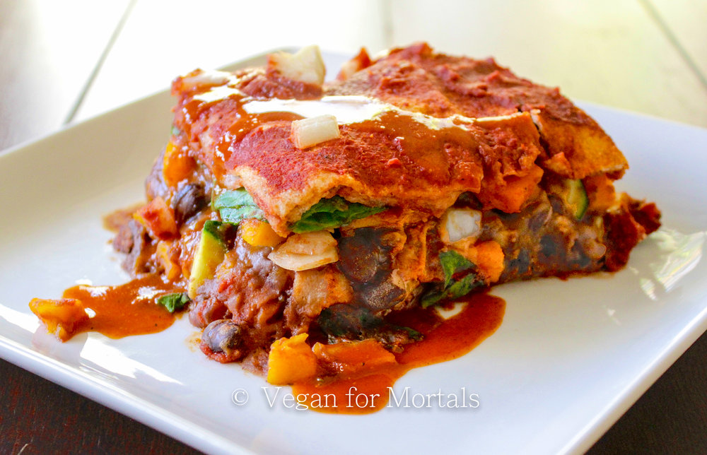 Mexi Lasagne - All I can say is YUM.
